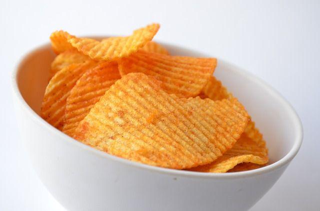 Burgonya chips